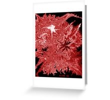 Stylistic Wildfire Greeting Card
