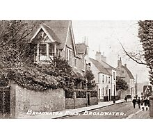 Ref: 24 - Broadwater Street West, Broadwater, Worthing, West Sussex. Photographic Print