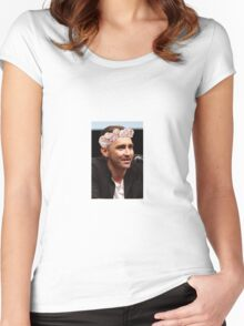 Lee Pace Women's Fitted Scoop T-Shirt