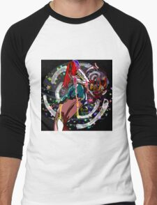 Cosmic Womb Men's Baseball ¾ T-Shirt