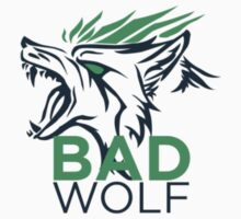 BADWOLF Logo Design Kids Tee