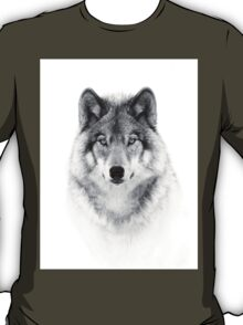 Timber Wolf in B&W T-Shirt