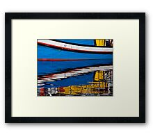 Cape Town Boats Framed Print