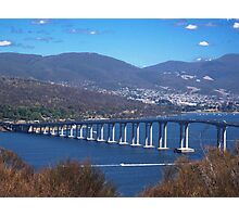 """Tasman Bridge, Hobart"" Photographic Print"