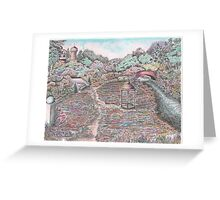 GARDEN OF FLOWERS Greeting Card