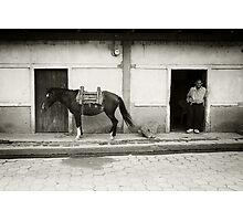 One Horse Town Photographic Print