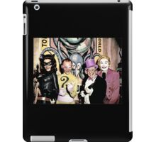 Batvillains iPad Case/Skin