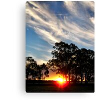 Saturday Sunset Canvas Print