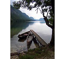 Slovenian Lake Photographic Print