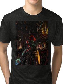 Mass Effect - Shepard told us... Tri-blend T-Shirt