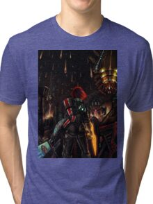Mass Effect - Shepard told us... Tri-blend T-Shirt