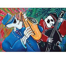 The Bad Blues Bone Band Photographic Print