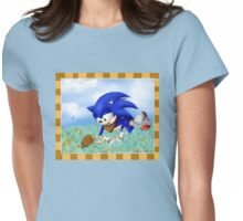 Sonic and the Hedgehog Womens Fitted T-Shirt