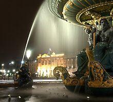 Paris fountain by Scott Bosworth