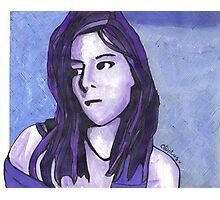A portrait 2 Photographic Print