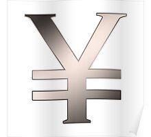 Yen signs Poster