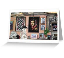 mexican hat lounge Greeting Card