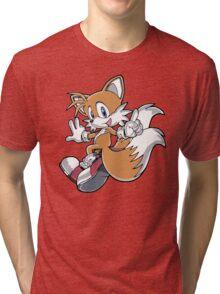 Tails Jumping Tri-blend T-Shirt