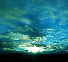 Enlightening Sunset by Nicole Weil T.