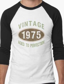 1975 Aged To Perfection Men's Baseball ¾ T-Shirt