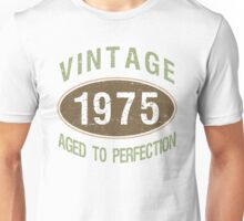 1975 Aged To Perfection Unisex T-Shirt