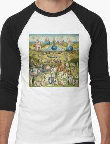 The Garden of Earthly Delights Full Image Men's Baseball ¾ T-Shirt