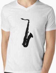 Jim's Sax Mens V-Neck T-Shirt