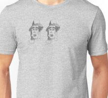 two heads Unisex T-Shirt