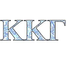 KKG Lilly Print Letters Photographic Print