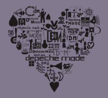 Depeche Mode : I Love DM - Black Kids Clothes