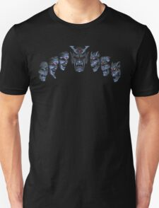Actraiser (SNES) Death Heim Faces T-Shirt