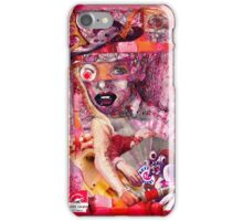 Contemporary Christmas Portait. iPhone Case/Skin
