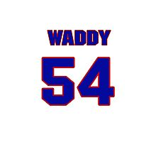 National football player Jude Waddy jersey 54 Photographic Print