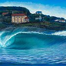 Mundaka, Spain by Clark Takashima