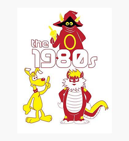 The 1980s Photographic Print