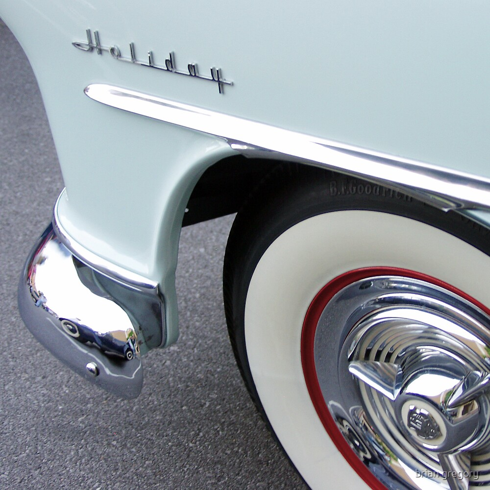 oldsmobile holiday, route 66 by brian gregory