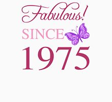 Fabulous Since 1975 Womens Fitted T-Shirt