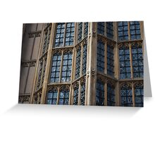 Westminster Windows Greeting Card