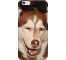 Give Us A Wink iPhone Case/Skin