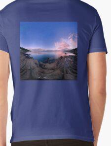 Dusk Shoreline near Moville, Donegal (Rectangular) Mens V-Neck T-Shirt