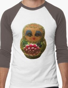 Russian doll Men's Baseball ¾ T-Shirt