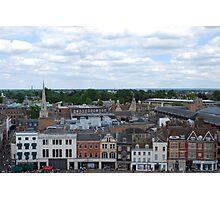 Cambridge Market Square Photographic Print