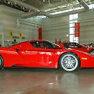 Enzo Ferrari by Gino Iori