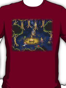 Chrono Trigger (Snes) Camp Scene T-Shirt