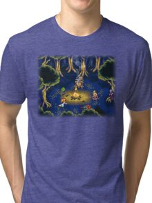 Chrono Trigger (Snes) Camp Scene Tri-blend T-Shirt