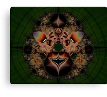 Fractal Lion Canvas Print