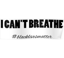 I Can't Breathe. Poster