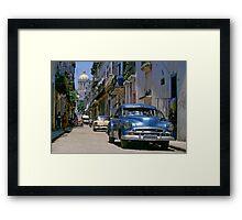 Havana Side Street Framed Print