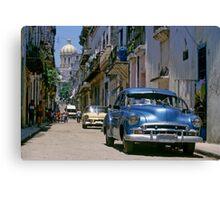 Havana Side Street Canvas Print