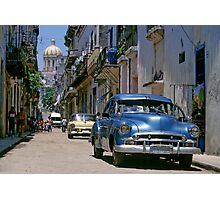 Havana Side Street Photographic Print